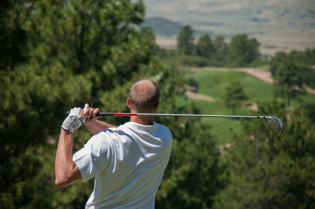 golfer, golf, sport