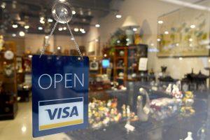 open sign, visa sign, open